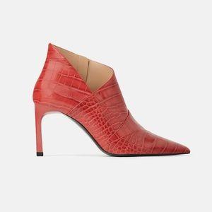 NWT Zara Heeled Boot